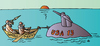 Cartoon: Somali Pirates (small) by Alexei Talimonov tagged somali,pirates