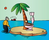 Cartoon: Uninhabited Island (small) by Alexei Talimonov tagged uninhabited,island