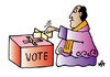 Cartoon: Vote (small) by Alexei Talimonov tagged vote