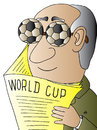 Cartoon: World Cup (small) by Alexei Talimonov tagged worldcup,football