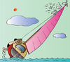 Cartoon: Yacht (small) by Alexei Talimonov tagged yacht