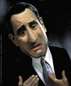 Cartoon: Robert De Niro Caricature (small) by GRamirez tagged robert de niro caricature caricatura guillermo ramirez