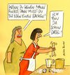 Cartoon: backen (small) by Peter Thulke tagged frauen,backen,ehe,single