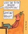 Cartoon: besuch (small) by Peter Thulke tagged familie,mann,frau