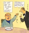 Cartoon: erlebnis (small) by Peter Thulke tagged gastronomie