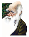 Cartoon: Charles Darwin (small) by achille tagged charles,darwin