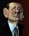 Cartoon: Silvio Berlusconi (small) by achille tagged silvio,berlusconi