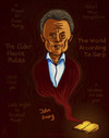 Cartoon: John Irving (small) by gilderic tagged caricature,illustration,portrait,writer,john,irving,american