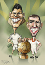 Cartoon: golden ball  2013 (small) by elidorkruja tagged frenk,ronaldo