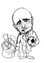 Cartoon: zio fester rossonero (small) by elidorkruja tagged adriano,galliani