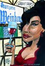 Cartoon: Ami Winehouse (small) by jean gouders cartoons tagged ami,wine,house,jean,gouders