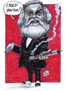 Cartoon: Karl Marx (small) by jean gouders cartoons tagged marx,jean,gouders,labour,day,may