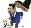 Cartoon: Morsi removed (small) by jean gouders cartoons tagged morsi,egypt,revolution