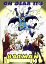 Cartoon: Oh dear its Batman (small) by jean gouders cartoons tagged batman,super,heroes,jean,gouders