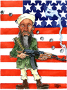 Cartoon: osama Bin Laden (small) by jean gouders cartoons tagged osama,bin,laden,jean,gouders,terror,terrorist,al,qauida