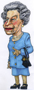 Cartoon: Queen Elizabeth 2 (small) by jean gouders cartoons tagged queen,elizabeth,england,jean,gouders,royal,wedding,kate,william,marriage,charles,buckingham,palace,windsor,mountbatten,middleton,westminster,abbey,camilla