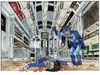 Cartoon: Subway scenes (small) by jean gouders cartoons tagged batman,super,heroes,jean,gouders