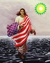 Cartoon: Can he? (small) by Alf Miron tagged bp,gulf,of,mexico,oil,spill,pollution,obama