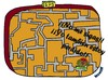 Cartoon: gps (small) by mmon tagged gps,seguir,perdido