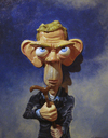 Cartoon: Dr House (small) by lloyy tagged dr,house,caricature,tv,series,famous,people,actor