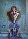 Cartoon: Jeff Bridges (small) by lloyy tagged jeff,bridges,movie,the,big,lebowski,actor,famous,people