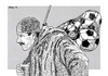 Cartoon: Armistice Day (small) by srba tagged war,peace,ww1,football,armistice,serbia