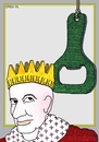 Cartoon: King Beer (small) by srba tagged king,crown,beer,damocles