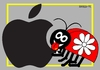 Cartoon: LadybugSaadet (small) by srba tagged ladybug sdy applemac