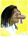 Cartoon: Luis Melodia (small) by dimaz_restivo tagged music