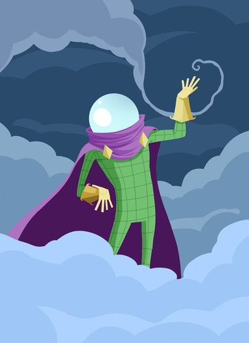 Cartoon: Mysterio (medium) by MonitoMan tagged mysterio