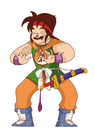 Cartoon: YamCha (small) by MonitoMan tagged dbz,yamcha