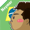 Cartoon: Neymar (small) by TiNG tagged neymar bra