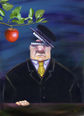 Cartoon: appetite (small) by trayko tagged hunger,food,apple,fruit,fruits,eating