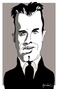 Cartoon: John Dillinger (small) by Bravemaina tagged dillinger