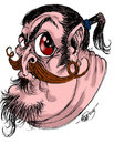 Cartoon: my self caricatur (small) by aceratur tagged my,self,caricatur