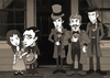 Cartoon: Buster Keaton (small) by ana001 tagged buster,keaton,our,hospitality,1923,silent,films