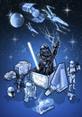 Cartoon: Fanart 2014 (small) by elle62 tagged sci,fi,darth,vader