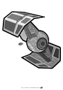 Cartoon: Tie Fighter (small) by elle62 tagged star,wars,fanart,trooper,scifi