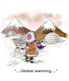 Cartoon: Global Warming (small) by LAINO tagged global,warming