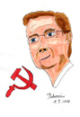 Cartoon: Westerwelle - Held der Arbeit (small) by Blogrovic tagged guido,westerwelle,kommunismus,hammer,sichel