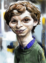 Cartoon: michael cera (small) by salnavarro tagged caricature,digital,michel,cera