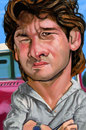 Cartoon: Patrick Swayse (small) by salnavarro tagged caricature,digital,patrick,swayse,hollywood,icon,iphone,fingerpaint