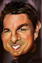 Cartoon: tom cruise (small) by salnavarro tagged fingerpainted,caricature,tom,cruise,hollywood,icon