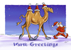 Cartoon: Warm Greetings (small) by Stan Groenland tagged christmas,santa,winter,greeting,cards,cartoon,art,design