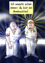 Cartoon: Armleuchter (small) by besscartoon tagged mann,männer,armleuchter,stirnlampe,bess,besscartoon