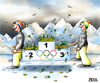 Cartoon: Bach-Blüten-Therapie (small) by besscartoon tagged ioc,olympiade,olympia,winterolympiade,wintersport,geld,bach,thomas,sochi,sotschi,reichtum,bereicherung,kommerz,profit,sponsoring,kapital,bess,besscartoon