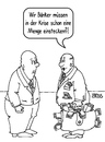 Cartoon: eine Runde Mitleid (small) by besscartoon tagged bank,banken,manager,geld,finanzen,krise,euro,betrug,korruption,bess,besscartoon