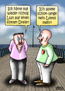 Cartoon: flotter Dreier (small) by besscartoon tagged mann,männer,sex,sexualität,flotter,dreier,lotto,bess,besscartoon