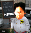 Cartoon: Fritto Misto (small) by besscartoon tagged jong,kim,diktator,nordkorea,drohung,krieg,atombombe,atomwaffen,un,arschloch,asshole,koch,menue,merda,fritto,misto,usa,südkorea,bess,besscartoon