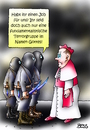 Cartoon: Jobsuche (small) by besscartoon tagged kirche,religion,vatikan,katholisch,is,gewalt,terrorismus,job,arbeiten,fundamentalismus,terror,gottes,namen,bess,besscartoon